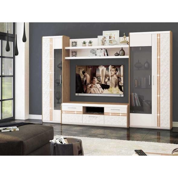 Набор мебели для гостиной Адель 4 (ширина 306 см)