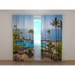 Gardinen bedruckt 3D Vorhänge Foto Vorhang Hotel