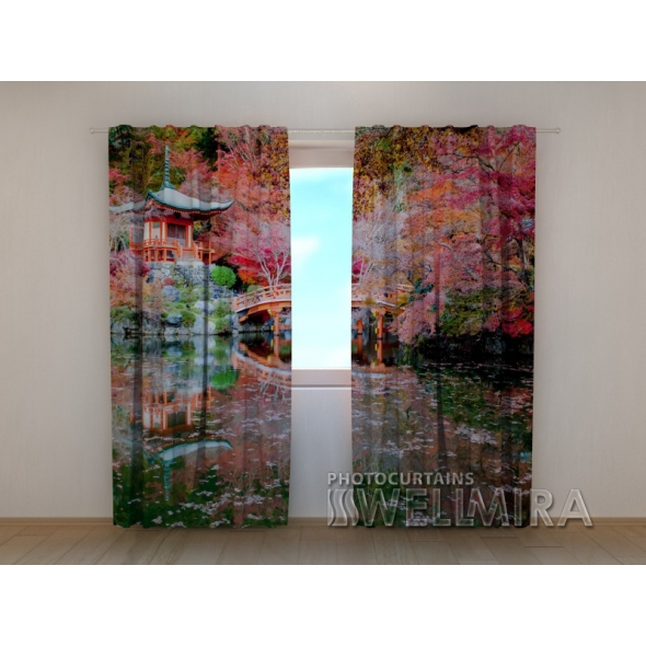 Gardinen bedruckt 3D Vorhänge Foto Vorhang Chinese house