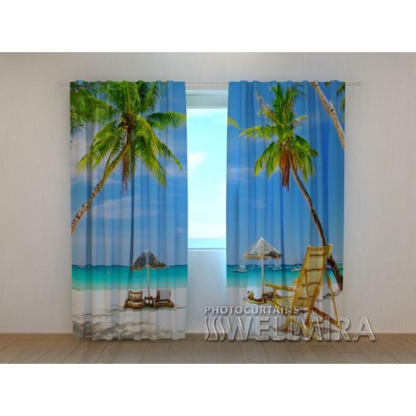 Gardinen bedruckt 3D Vorhänge Foto Vorhang Wonderful Place