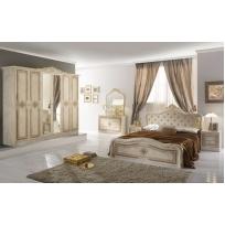 Schlafzimmer Livia in Beige 4- oder 6-Teilig