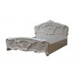 Schlafzimmer Set Remo in Beige Hochglanz 4-Teilig