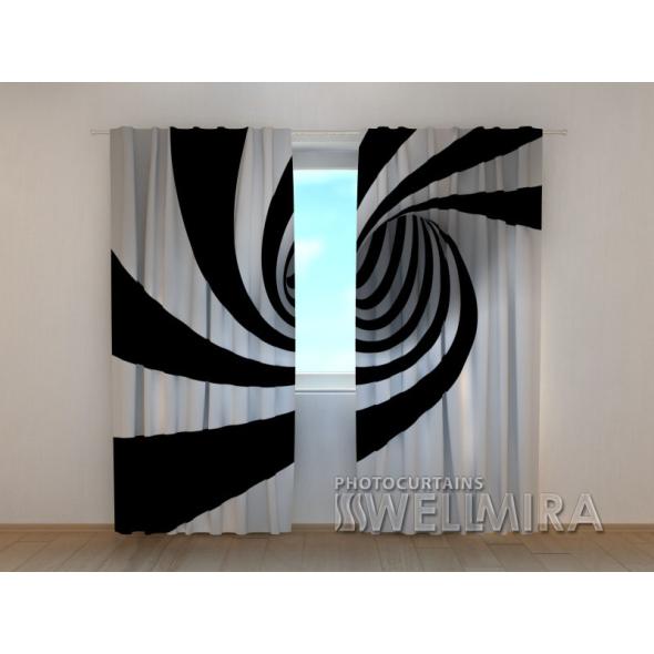 Gardinen bedruckt 3D Vorhänge Foto Vorhang Piano