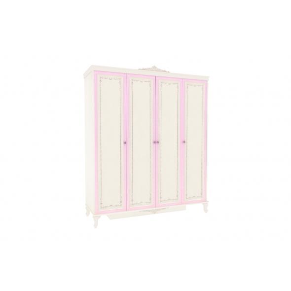 Barock Kleiderschrank Marquisa 4-Türig ohne Spiegel
