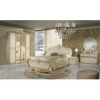 Schlafzimmer Lavinia in Beige 6-Teilig