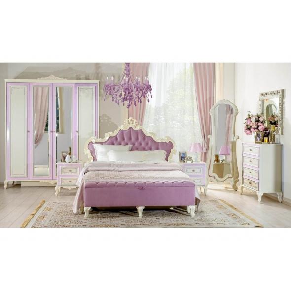 Barock Schlafzimmer Marquisa 8-Teilig