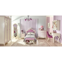 Barock Kinderzimmer Marquisa 5-Teilig