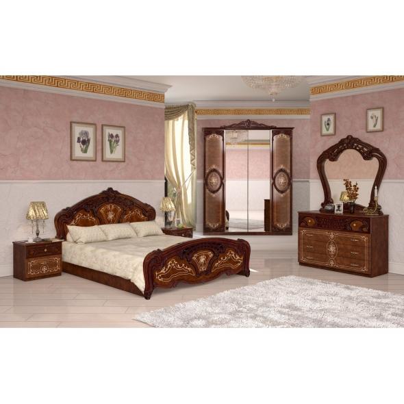 Schlafzimmer Remo in Walnuss 6-Teilig