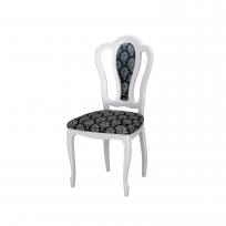 Barock Stuhl Medusa in Beige Hochglanz