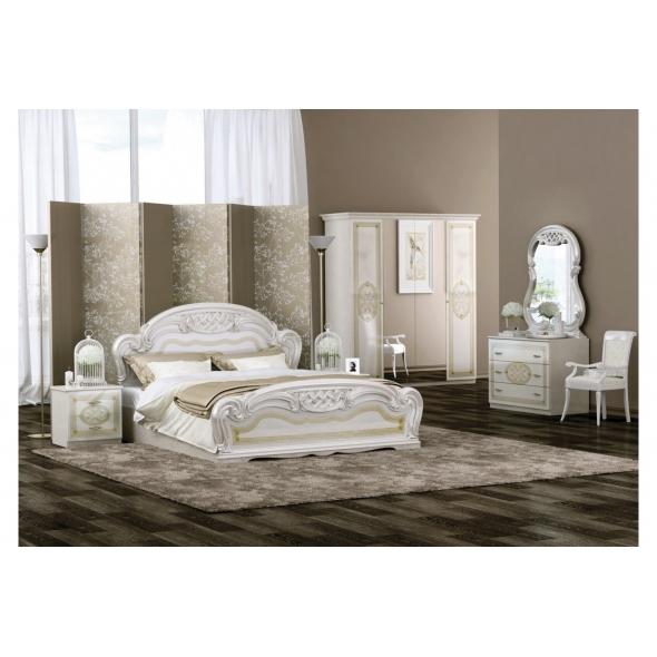 Schlafzimmer Lara in Beige 6-Teilig