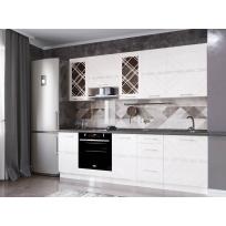 Кухонный гарнитур Бьянка 26 (ширина 240 см)