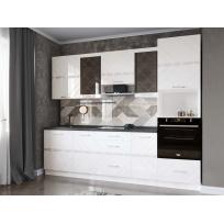 Кухонный гарнитур Бьянка 30 (ширина 260 см)