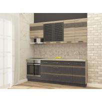Кухонный гарнитур Бруклин 11 (ширина 220 см)