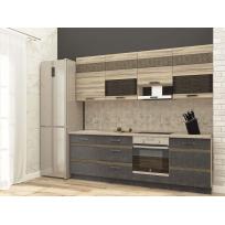 Кухонный гарнитур Бруклин 13 (ширина 240 см)