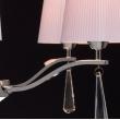 Hängeleuchte, Chrom/Metall/Akryl Glasklar/Kristall 5*40W E14 2700K, 101011105