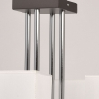 Hängeleuchte, Graphite+Chrom/Metall R/+Akryl 4*40W E14 2700K, 101011904