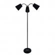 Tischleuchte, Black/Metal Black/Fabric 3*60W E27, 112040103