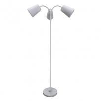 Tischleuchte, White/Metal White/Fabric 3*60W E27, 112040303