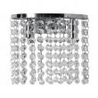 Wandleuchte, Chrome/Metal Transparent/Crystal 2*40W G9, 113020302