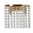 Wandleuchte, French Gold/Metal Transparent/Crystal 2*40W G9, 113020402