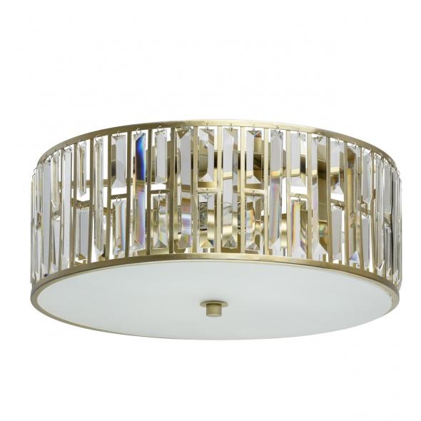 Hängeleuchte, Gold/Metal Transparent/Crystal 5*40W E27 2700K, 121010205