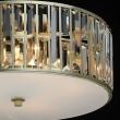 Hängeleuchte, Gold/Metal Transparent/Crystal 5*40W E27 2700K, 121010305