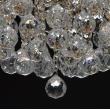Deckenleuchte, Franzoesische Goldfarbe / Metall Kristall 6*60W E14, 232016406