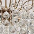 Deckenleuchte, Honig Messingfarbe / Metall Kristall 6*60W E14, 232016506