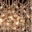 Deckenleuchte, Franzoesische Goldfarbe / Metall Kristall 8*60W E14, 232016708