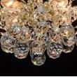 Kronleuchte, Naturgoldfarbe / Metall Kristall 6*60W E14, 232017306