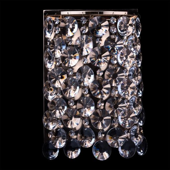 Wandleuchte, Goldfarbe / Metall Kristall 3*20W G4 Osram Gluehbirne Inklusive, 232024403