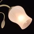 Deckenleuchte, Antike Braune Farbe / Metall Glas 5*60W E14, 256018205