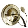 Wandleuchte, Antike Braune Farbe / Metall Glas 1*60W E14, 256028401