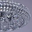 Deckenleuchte, Chromfarben / Metall / Kristall / Gluehbirne Inklusive 7*40W G9, 276014207