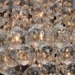 Deckenleuchte, Brushed Silver/Metal Transparentl/Crystal 5*40W E14, 276014605
