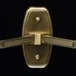Wandleuchte, Brass/Metal Transparent/Glass 2*40W E14, 285021502