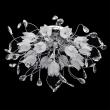 Deckenleuchte, Chrom/Metall Weissfarbiges Kristallglas 16*20W G4 Fernbedienung + Gluehbirne Inklusive, 294014416