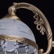 Kronleuchte, Antike Messingfarbe/Messing / Glas /Kristall 5*60W E27, 295016405