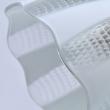 Deckenleuchte, Champagner Silber+Holz/Metall Transparent+Weiß Pattern/Glas Transparent/Kristal 8*40W E27  , 297013508