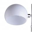 Stehleuchte, Chromfarben / Metall Acryl 1*60W E27, 300042401