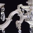 Kronleuchte, Elfenbein Farbe / Metall Kristall 6*60W E14, 301014406