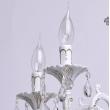 Kronleuchte, Matte Weisse+ Goldfarbe / Metall / Kristall 5*60W E14, 301014605