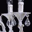 Kronleuchte, Matte Weisse+ Goldfarbe / Metall / Kristall 6*60W E14, 301014706