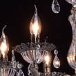Kronleuchte, Antike Messingfarbe / Metall / Kristall/Glas 6*60W E14, 301015006