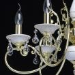 Kronleuchte, Goldfarbe/Metall Und Messing / Kristall/Keramik 6*60W E14, 301018106