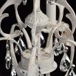 Kronleuchte, Matt White+Gold Color / Metal Crystal 5*60W E14, 301019805