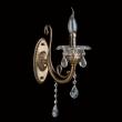 Wandleuchte, Gold Und Messingfarbe / Metall / Kristall/Glas 1*60W E14, 301028301