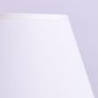 Tischleuchte, Matt Weiss+Goldfarben/Metall Lampenschirm 1*40W E27, 301039501