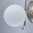 Wandleuchte, Pearlen Gold/Metall Weiß/Glas 2*40W E14, 306023502