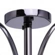Deckenleuchte, Nickelfarbig /Metall Glas/Kristall 5*60W E27, 315011205
